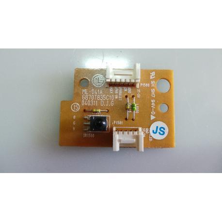 SENSOR IR TV LG RZ-32LZ50 ML-041A 6870T835C10 - RECUPERADO
