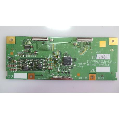 PLACA T-CON BOARD TV LG RZ-32LZ50 6870C-0021C - RECUPERADA