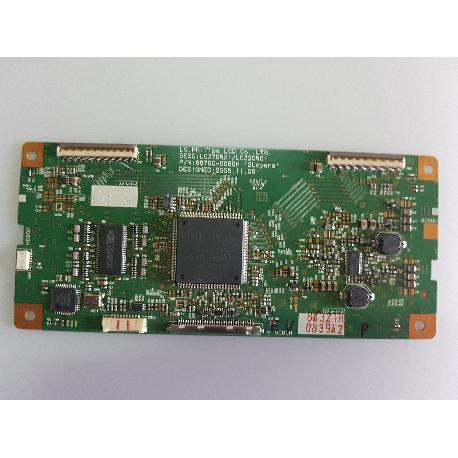 PLACA T-CON 6870C-0060H PARA TV LG37LE2R-ZJ - RECUPERADA