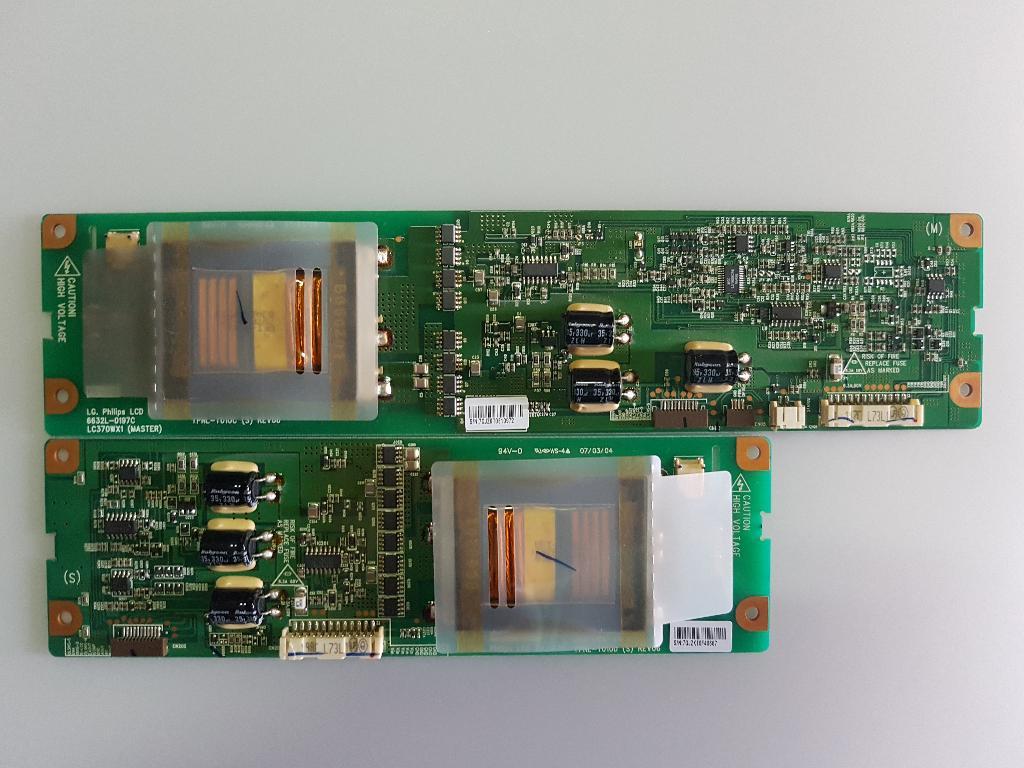 Kit De Placa Inverter Board 6632L-0197C 6632L-0198C Para TV LG 37LE2R-ZJ -  Recuperada