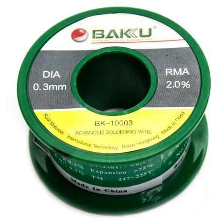 BOBINA DE ESTAÑO BAKU-10005 0.5MM 100G
