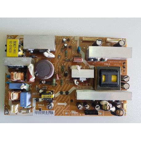 FUENTE DE ALIMENTACION POWER SUPPLY BOARD PSLF231501A BN44-00157A PARA TV SAMSUNG LE37A558P3F - RECUPERADA