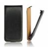 Funda Cuero Vertical Huawei Y210 Negra