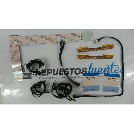 SET DE CABLES TV SAMSUNG UE65JU7000