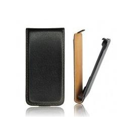 Funda Cuero Vertical Samsung S5 Negra