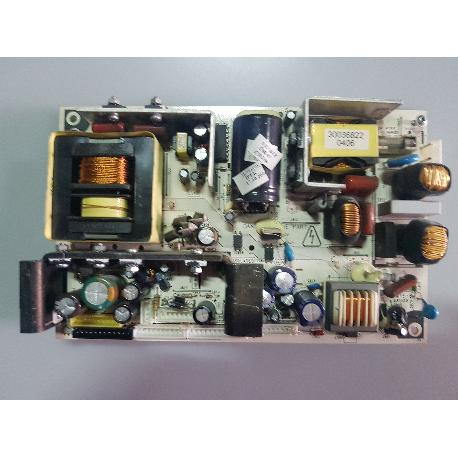 FUENTE DE ALIMENTACION POWER SUPPLY BOARD 17PW15-8 081105 PARA TV ECRON TFT32EC - RECUPERADA