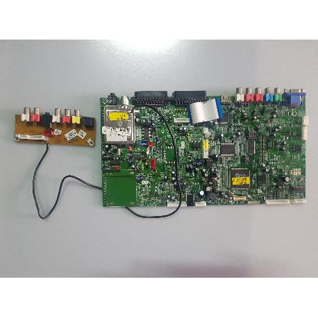 PLACA BASE MAIN MOTHERBOARD 17MB15E-5 251005 + PLACA SIDE AV 17FAV15-2 E300226 PARA TV ECRON TFT32EC - RECUPERADAS