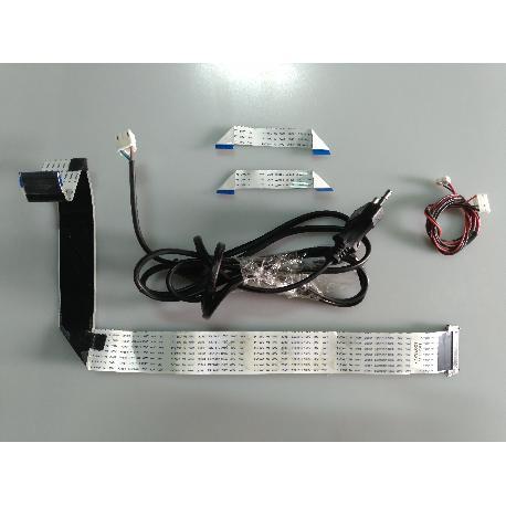 SET DE CABLES TV TD SYSTEMS K40DKLV3F - RECUPERADOS