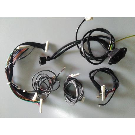 SET CABLES ORIGINAL TV SAMSUNG LW32A23WX - RECUPERADO