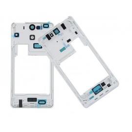 Carcasa intermedia con lente de camara Original Sony Xperia V LT25i Blanca