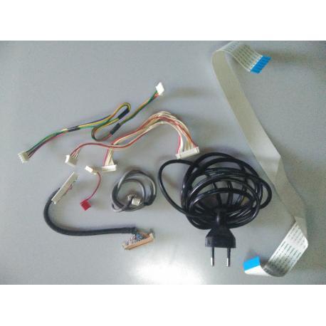 SET CABLES ORIGINAL TV TECHWOOD TK19T28 - RECUPERADO