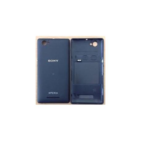 Carcasa Tapa Trasera Bateria Original Sony Xperia M C1905 Negra