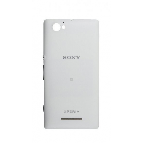 Carcasa Tapa Trasera Bateria Original Sony Xperia M C1905 Blanca
