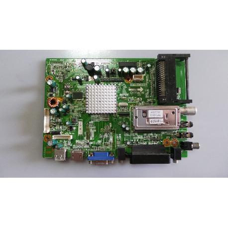 PLACA BASE MAIN BOARD TV BLUSENS H30SNCHRST2B22PSP CV308L-A - RECUPERADA