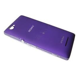 Carcasa Tapa Trasera Bateria Original Sony Xperia M C1905 Morada