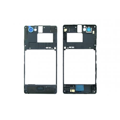 Carcasa intermedia con Lente de Camara Original Sony Xperia M c1905