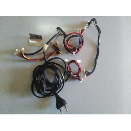 SET JUEGO CABLES ORIGINAL TV OKI TVV32T2 - RECUPERADO