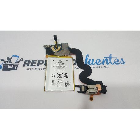 PLACA BASE + BATERIA + CONECTOR DE CARGA ORIGINAL PARA IPOD 5 A1421 - RECUPERADA