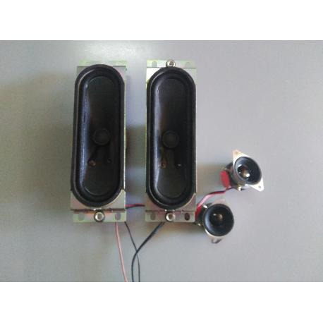 SET ALTAVOCES ORIGINAL 24KY7M PARA TV PHILIPS 32PFL5522D/12 - RECUPERADO
