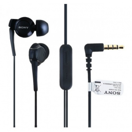 Manos Libres Portatil Original Sony 1253-7589.2 Negro 3.5MM