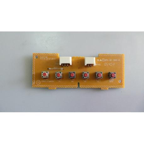 "MODULO DE BOTONES TV THOMSON 32LB4055 PCB KB 23"" EFC030E - RECUPERADO"