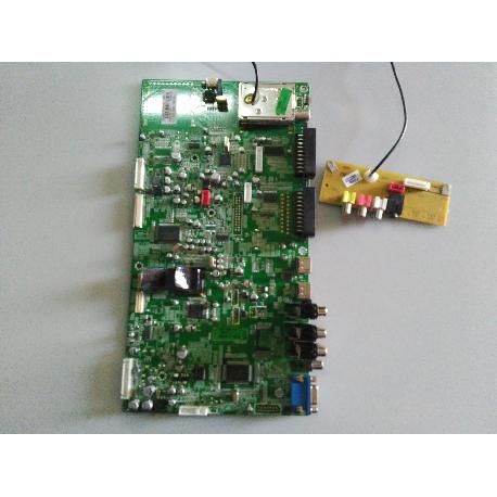 PLACA BASE MAIN MOTHERBOARD 17MB26-3 PARA TV OKI V32A-FH - RECUPERADO