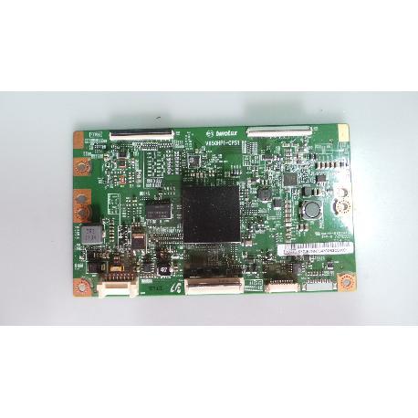 PLACA T-CON BOARD TV SAMSUNG UE50H6400AW V650HP1-CPS1 - RECUPERADA
