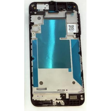 CARCASA FRONTAL DE LCD PARA HTC ONE X9 - NEGRA