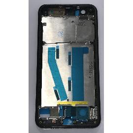CARCASA FRONTAL DE LCD CON MARCO PARA XIAOMI MI 6 MI6 - NEGRA