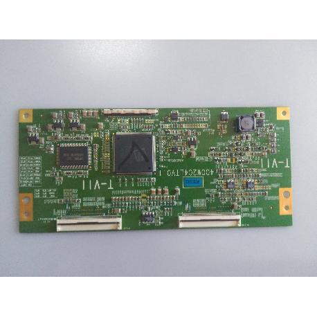 PLACA T-CON BOARD 400W2C4LTV0.1 PARA TV LAVA LV-40LLP - RECUPERADA