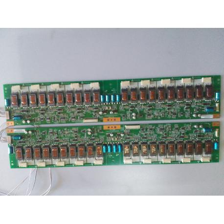 SET PLACAS INVERTER 24V40W2S(HIP0212A) REV4_1 PARA TV LAVA LV-40LLP - RECUPERADO