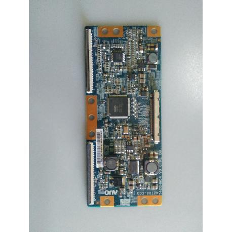 PLACA T-CON BOARD T420HW04 V0 PARA TV LG 42LF2510 - RECUPERADA