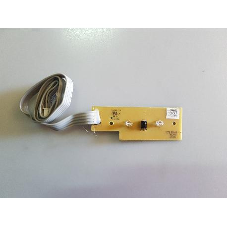 PLACA SENSOR DE IR + LUCES LED 17LD68-5 280408 PARA TV OKI V19A-PH - RECUPERADA