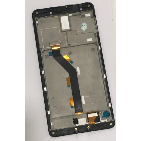PANTALLA LCD DISPLAY + TACTIL CON MARCO PARA XIAOMI MI5S PLUS - NEGRA