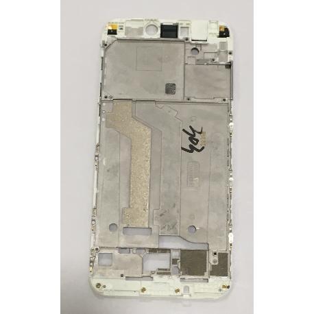 CARCASA FRONTAL DE LCD PARA XIAOMI MI5C, MI 5C - BLANCA