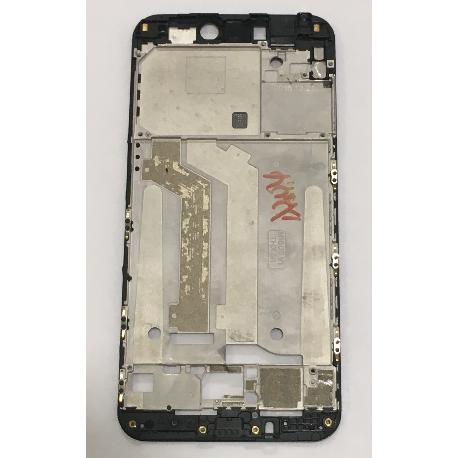 CARCASA FRONTAL DE LCD PARA XIAOMI MI5C, MI 5C - NEGRA