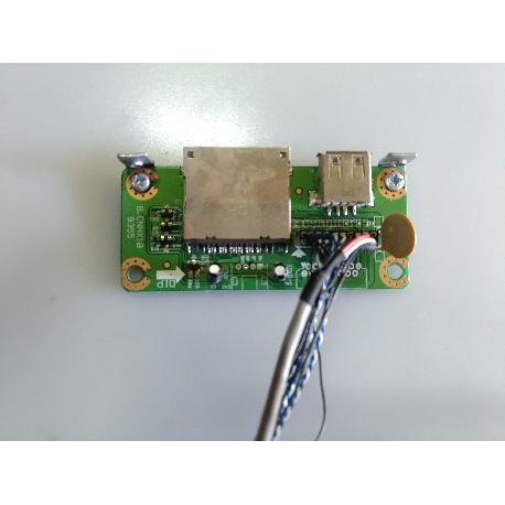 MODULO CONEXIÓN SD Y USB INPUT TV SOGO SS-1935 B.CNHX1B 9355 - RECUPERADO