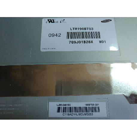 """BLOQUE DE PANTALLA LCD 19"""" TV SOGO SS-1935 SAMSUNG  0942 LTM190BT03 7Q9J01B28X W01 - RECUPERADA"""