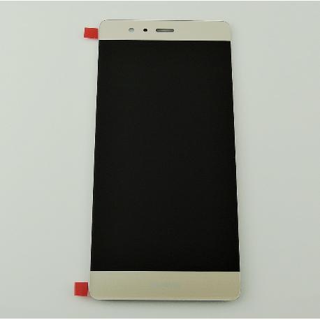 PANTALLA LCD DISPLAY + TACTIL CON MARCO PARA HUAWEI P9 - ORO