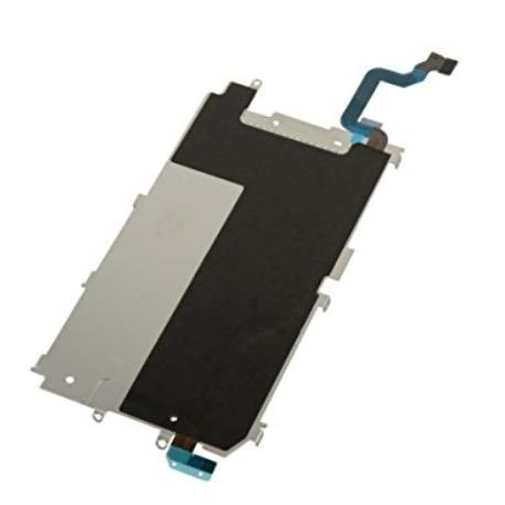 REPUESTO DE PROTECTOR METALICO DEL LCD + FLEX CENTRAL PARA IPHONE 6