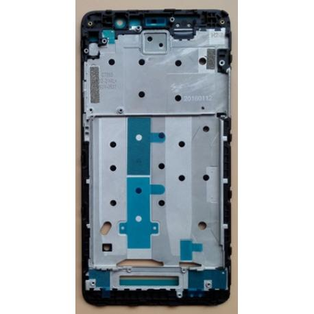 CARCASA FRONTAL DE LCD PARA XIAOMI REDMI NOTE 3 - NEGRA