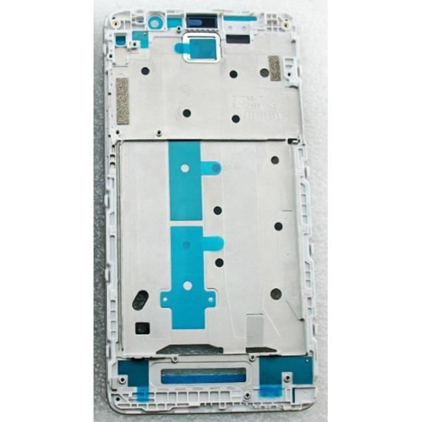 CARCASA FRONTAL DE LCD PARA XIAOMI REDMI NOTE 3 - BLANCA