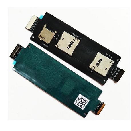 FLEX LECTOR SIM Y SD PARA ASUS ZENFONE 2 ZE550ML Z00AD_IO_FPC REV. 2.0