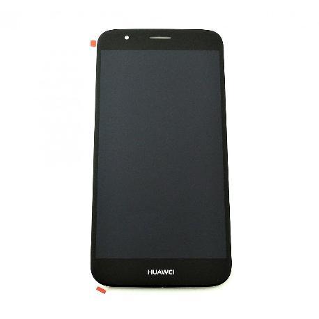 PANTALLA TACTIL + LCD DISPLAY CON MARCO PARA HUAWEI G8 / G8X NEGRA