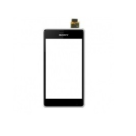 Pantalla Tactil con Marco Original Sony Xperia E1 D2005 D2004 blanca - Recuperada