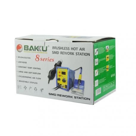 Estación de soldadura de aire caliente BAKU BK-878