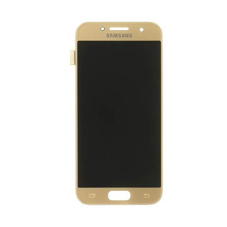 PANTALLA LCD DISPLAY + TACTIL ORIGINAL PARA SAMSUNG GALAXY A3 2017 A320F - ORO