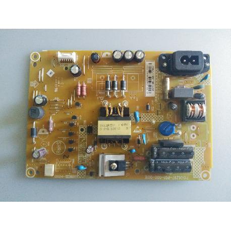 FUENTE DE ALIMENTACION POWER SUPPLY BOARD 715G6297-P01-000-001E PARA TV PHILIPS 22PFH4109/88 - RECUPERADA