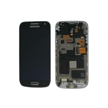Pantalla completa con Marco Original Samsung galaxy S4 Mini i9195 Edicion Especial Negra