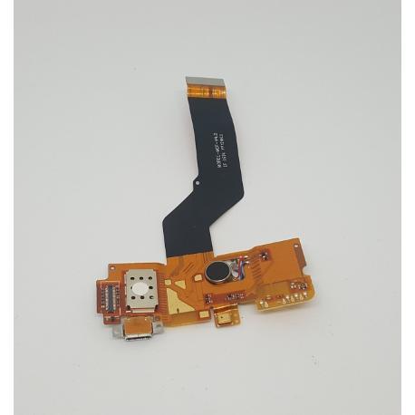 MODULO CONECTOR DE CARGA + VIBRADOR ORIGINAL PARA ENERGY PHONE PRO 4G - RECUPERADO